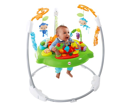 Win new roaring rainforest jumperoo