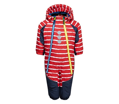 Win kozi kidz snowflake red stripe front
