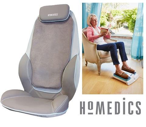 Win a HoMedics Leg Exerciser & Deluxe Massager sweepstakes