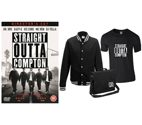 Straight Outta Compton: Director's Cut sweepstakes