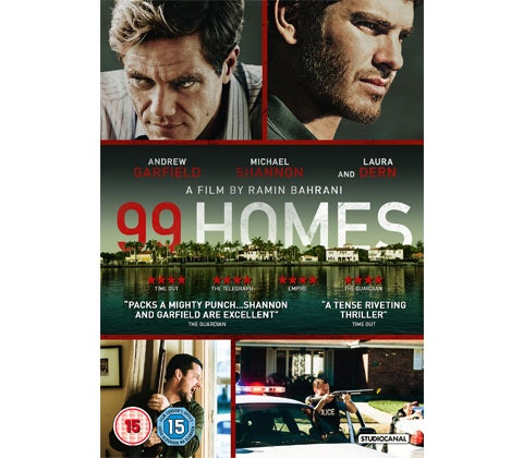 """Win a thriller bundle of DVDs with """"99 Homes""""! sweepstakes"""