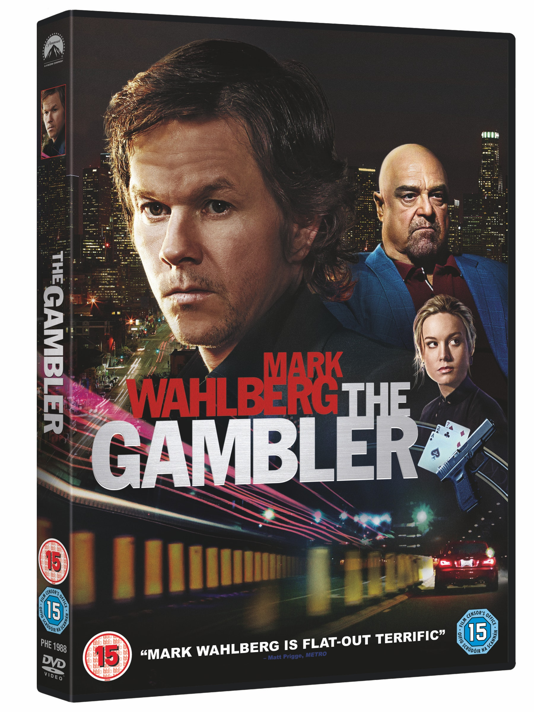 Gambler 1disc dvd retail 3d