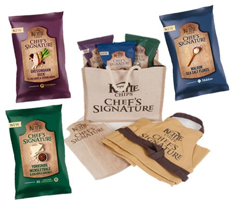 KETTLE Chips Chef's Signature Goodies sweepstakes
