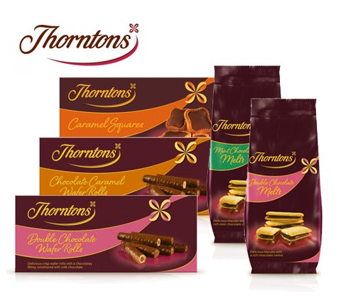 Thorntons biscuit hampers sweepstakes