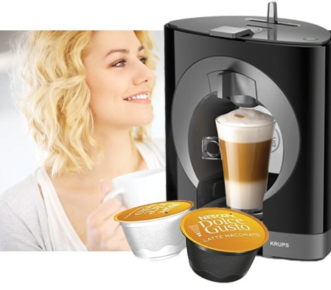 Win 4 x Nescafe Dolce Gusto Oblo coffee machines sweepstakes