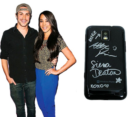 Alex and sierra s phone giveaway