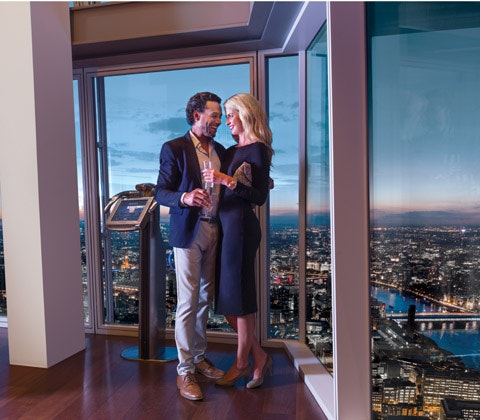 The View from The Shard and Michelin Starred Dining for Two at Galvin La Chapelle sweepstakes