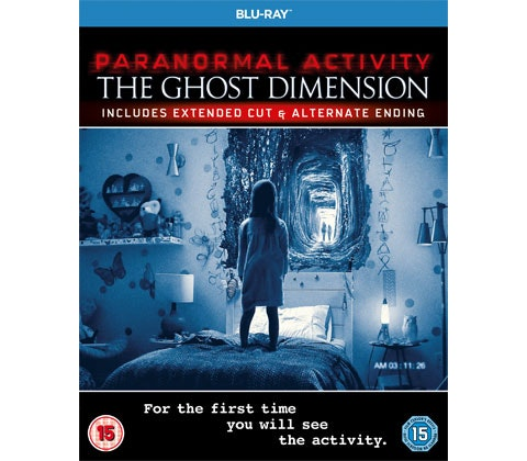 PARANORMAL ACTIVITY THE GHOST DIMENSION Blu-ray™ or DVD  sweepstakes