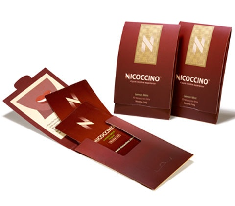 Win 4 x packs of Nicoccino and leather wallet sweepstakes