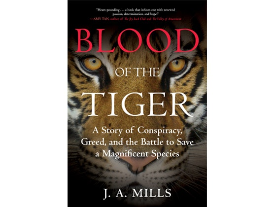 Blood of the tiger book giveaway