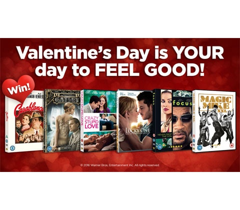 Valentines DVD bundle sweepstakes