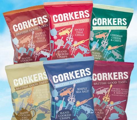 Corkers crisps sweepstakes