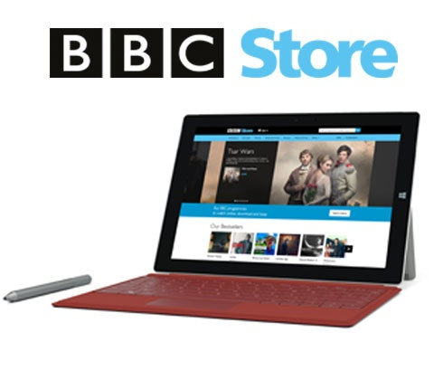 Win a Microsoft Surface 3 & £100 of BBC Store vouchers sweepstakes