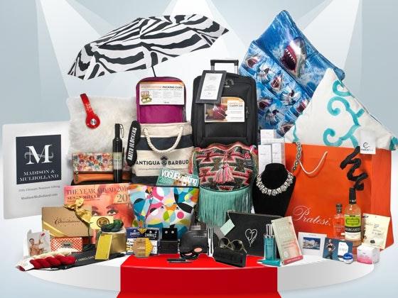 Madison and Mulholland 2016 Awards Season Gift Bag sweepstakes