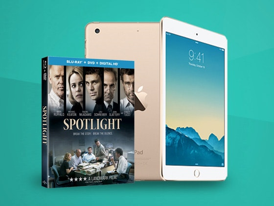 Spotlight ipadmini giveaway