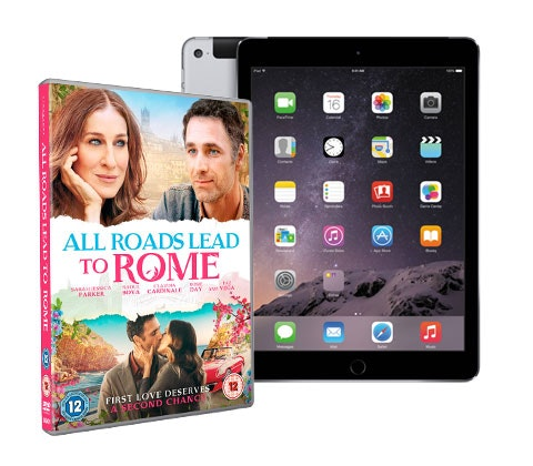 Win an iPad Air 2 & All Roads Lead To Rome DVD sweepstakes