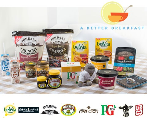 Win 12 x Back to Breakfast goodie boxes sweepstakes