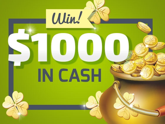 1000 cash giveaway march 2016