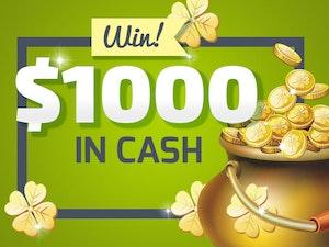 1000 cash giveaway march 2016