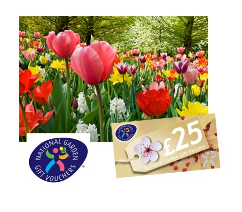 National Garden Gift vouchers sweepstakes