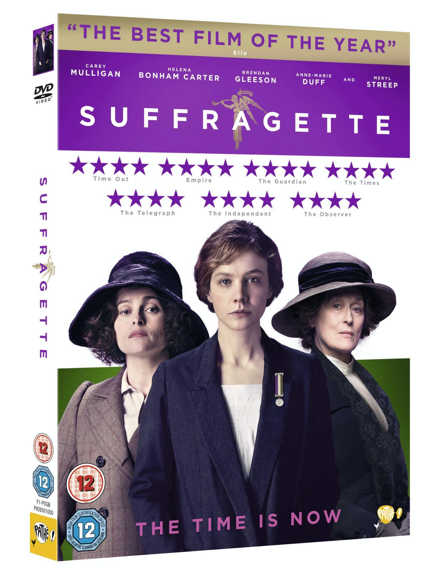 Suffragette dvd 3d packshot