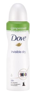 Dove invisible dry compressed 125ml