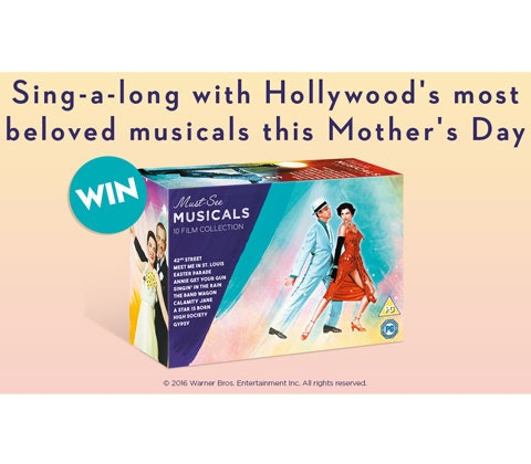 Must-See Musicals: 10 Film Collection DVD boxset sweepstakes