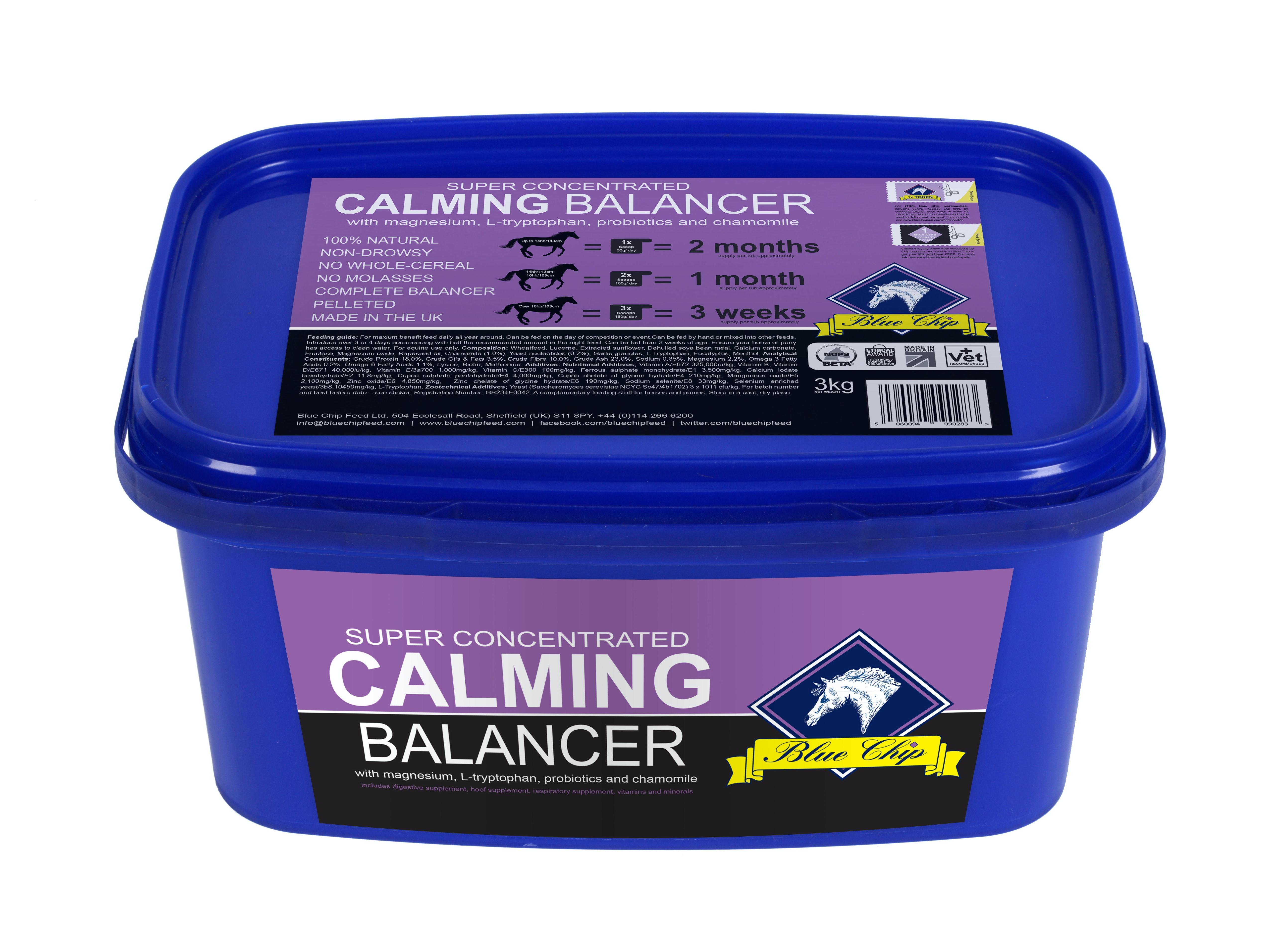 Blue chip calm balancer