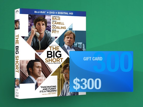Big short giftcard giveaway