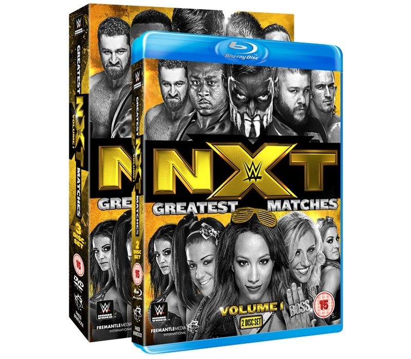 Win NXT Greatest Matches Volume 1 on Blu-ray sweepstakes