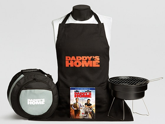 Daddys home prize package giveaway