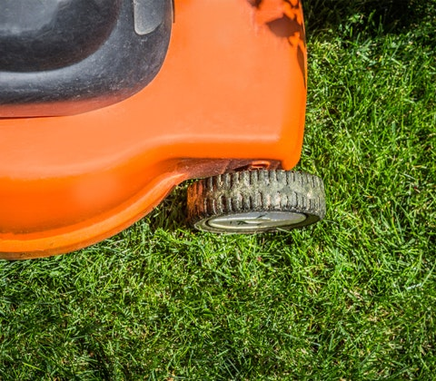 Flymo Chevron Electric Rotary Lawn Mower  sweepstakes