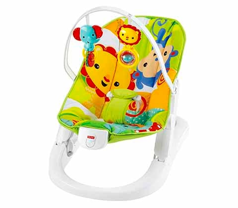 Win rainforest fun n fold bouncer