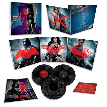 Batman superman vinyl comp