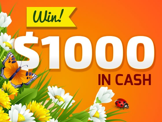 April 1000 cash giveaway