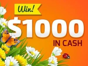 April 1000 cash giveaway