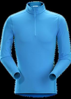 Phase ar zip neck ls adriatic blue