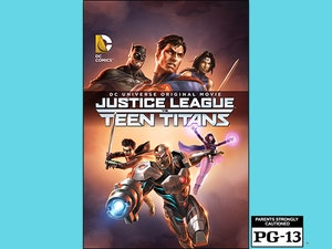 Justice league teen titans giveaway