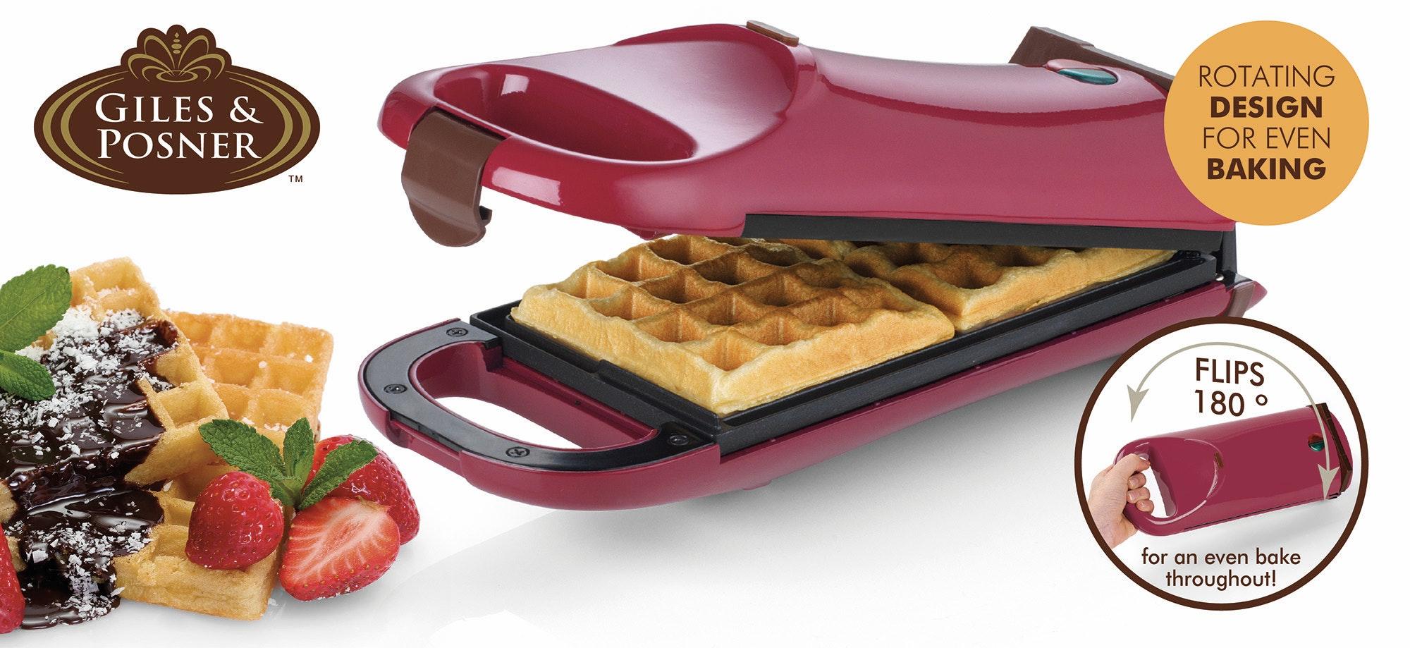 Giles   posner flip over waffle maker