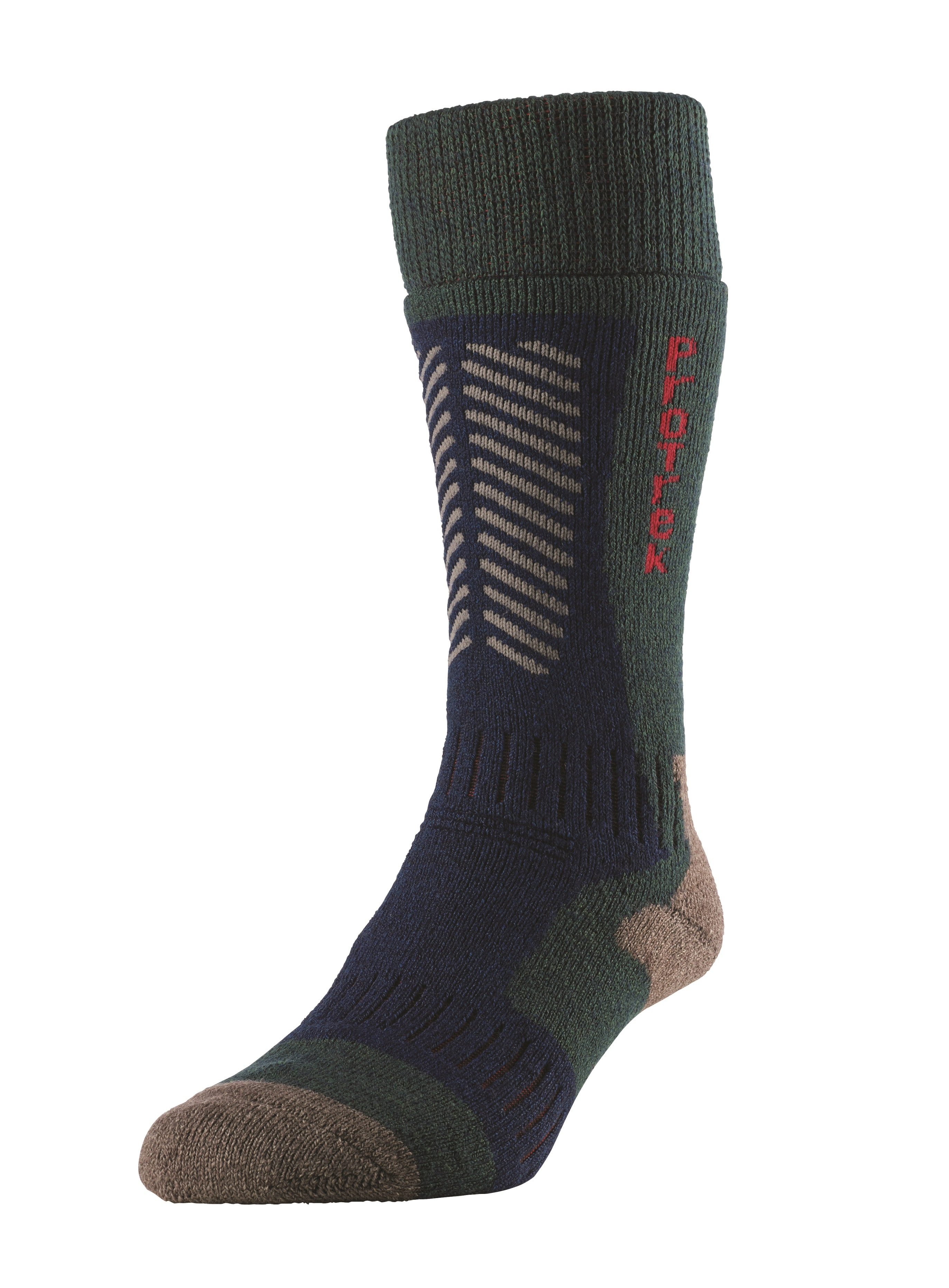 Hj hall  832 extreme protrek   technical walking sock bottle  13 75