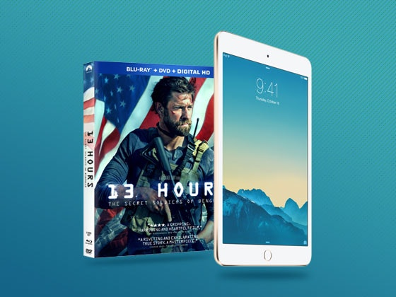 13 hours ipad mini giveaway