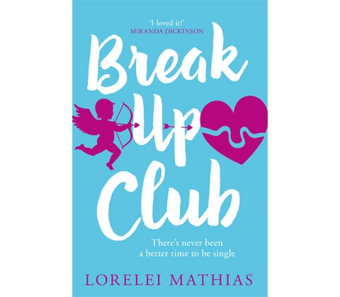 Break up club paperback book competition