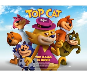 Win a family dvd bundle with  top cat begins    in cinemas may 27