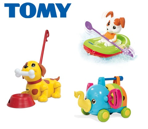 Win a tomy toddler and bath bundle