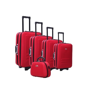 Essential home supply 5 piece suitcase trolley travel bag luggage set del 5p3