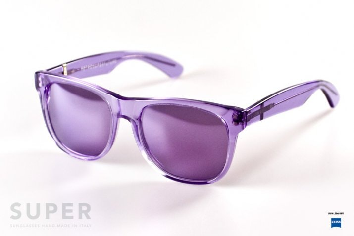 Super sunglasses mono viloet