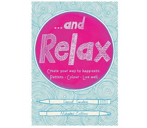 And relax colouring book competition