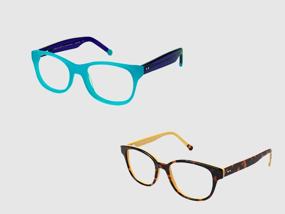 Colors in optics glasses giveaway