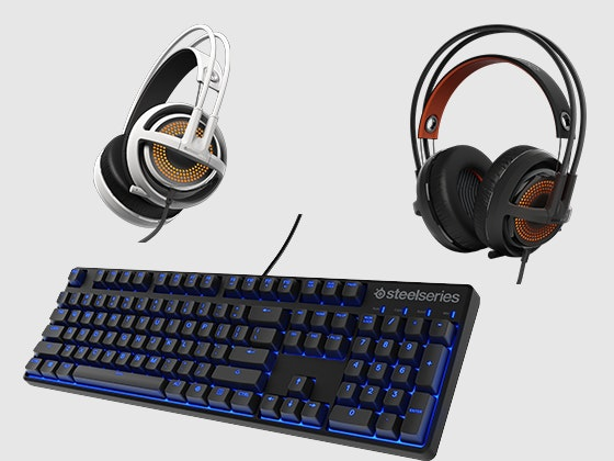 Steelseries keyboard and headphone giveaway