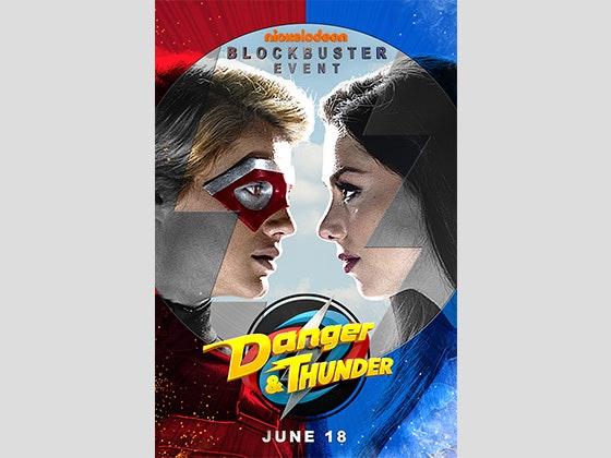 Danger thunder poster giveaway